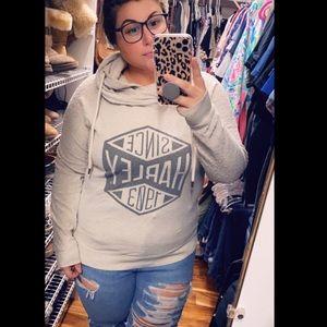 Harley Davidson Double Hooded Sweatshirt